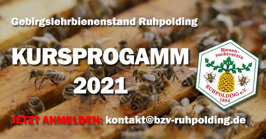 Kursprogramm des BZV-Ruhpolding 2021
